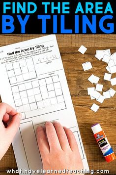 Third grade cut and paste math activities for almost every Common Core math standard. These activities add a little bit of fun back into third grade math. Differentiation In The Classroom, Math Classroom, Hands On Activities, Math Activities, Common Core Math Standards, Teaching Reading, Teaching Tips, Third Grade Math, Math Practices