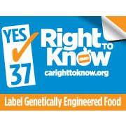 CARightToKnow's new logo! Congratulations to Proposition 37. www.carighttoknow.org