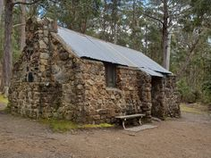 Junction cabin is our lunch stop on the Iconic Ascent tour of kunanyi / Mt Wellington. This special hut can only be accessed by walking or riding. Tasmania, Walk On, Lunch, Tours, Cabin, House Styles, Eat Lunch, Cabins, Cottage