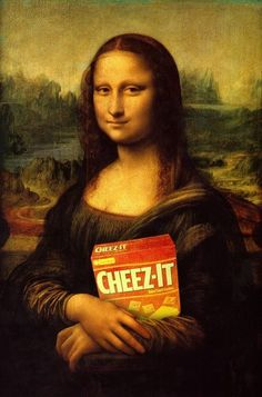 Mona cheez-it