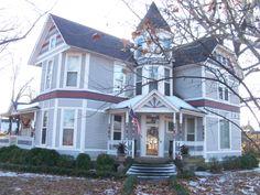 The home where former Jonesboro Mayor Herbert Sanderson once lived. It was built in 1881.