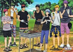 Discovered by Mitchyyy-kun. Find images and videos about anime, kuroko no basket and kuroko no basuke on We Heart It - the app to get lost in what you love. Haikyuu Characters, Anime Characters, Kagami Kuroko, Akashi Seijuro, Kuroko No Basket Characters, Desenhos Love, Kiseki No Sedai, Akakuro, Generation Of Miracles