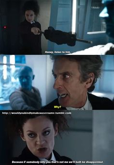 Missy & The Doctor #WorldEnoughAndTime