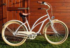 Rower cruiser Caramel Milk #bike #cruiser #beachbike #beachcruiser #royalbi #rower #miejski www.RoyalBi.pl