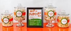 """Hop On Popcorn"" Bar for Dr. Suess Parties"