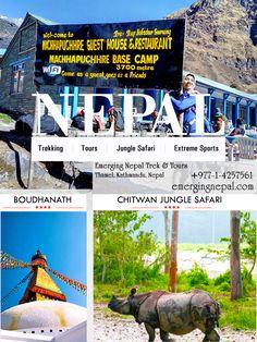 Trekking, Tours, Jungle Safari & sports adventure with a professional trekking company Emerging Nepal Trek & Tours