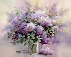 Lilac Flowers in a Vase print of Watercolor Painting - Nature, Flowers, Peaceful Gifts, Gift for Ladies. ▼Lilac Flowers in a Vase ▼Archival reproduction of original oil painting ▼Choose from 8x10, 12x15, 16x20 Inches ▼Archival print printed with Epson Ultra Chrome pigment inks on Hahnemuhle Fine Art paper. ▼The print looks very much like an original watercolor painting. ▼Prints will come signed ▼8x10 prints are packed in a clear cello sleeve with heavy duty board mailer to avoid bending...