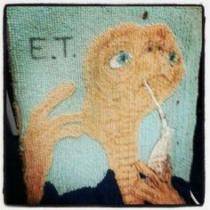 An E.T. rug