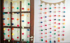 PALOMITAS DE MAIZ (Tejidos que adornan) Bunting Garland, Calendar, Holiday Decor, American Girl, Diy, Craft, Funny, Home Decor, Ornaments