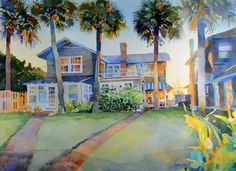 Robert Leedy   WATERCOLOR    Florida