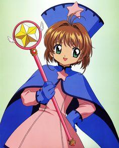 Various anime, manga, and video game fashion! Otaku, Old Anime, Anime Manga, Clow Reed, Tomoyo Sakura, Sakura Card Captors, Sakura Cosplay, Film D'animation, Female Anime