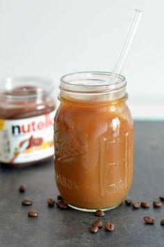Nutella Iced Coffee