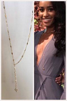 The perfect delicate lariat as seen on The Bachelor.