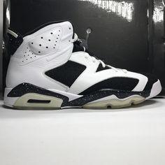 162e76cb7665 Nike Air Jordan 6 VI Retro Oreo Size 13