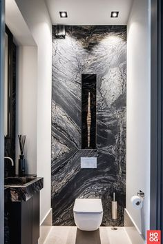 Marble is the perfect material to give a touch of luxury and glamour to any interior design project! See more at luxxuhome.net #luxurybathroomtoilets