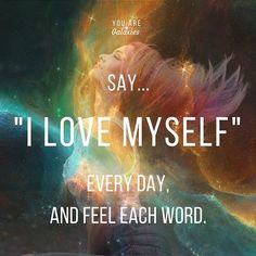 Affirmations are so good! Positive Thoughts, Positive Vibes, Positive Quotes, Motivational Quotes, Inspirational Quotes, Self Love Affirmations, Learning To Love Yourself, Believe, Learn To Love