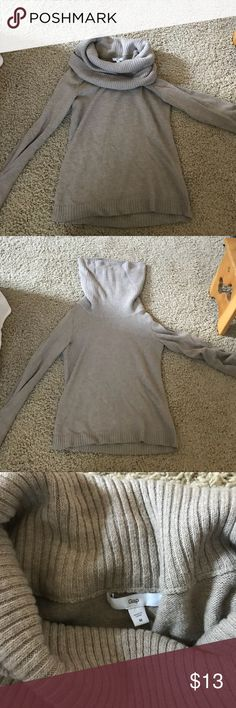 earth tone Gap cowl neck - my fav sweater! my fav gap sweater! It's a light brown and is gorg paired with brown riding boots and jeans. The cowl neck is so warm. GAP Sweaters Cowl & Turtlenecks
