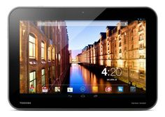 Presentación en Europa de tablets Toshiba