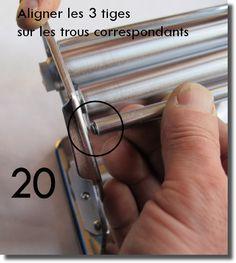 Démontage et remontage d'une machine à pâte Imperia 3 D