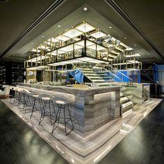 Restaurant and Bar Design Awards 2013 Winner - Vault Bar (UAE) / LW Design Group