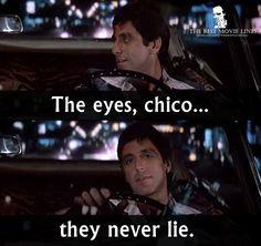 - Al Pacino as Tony Montana in Scarface (1983).