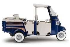 Italian Icon - Ape Piaggio Calessino Vintage - Cars, Vespa and More   Italian Box