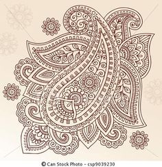 Illustration about Hand-Drawn Abstract Henna Mehndi Tattoo Flower Mandala Medallion and Paisley Doodle Designs- Vector Illustration Design Elemens. Illustration of abstract, mhendi, floral - 14265877 Mehndi Tattoo, Henna Mehndi, Henna Tattoo Designs, Henna Art, Mehendi, Tribal Henna, Foot Henna, Arabic Henna, Paisley Doodle