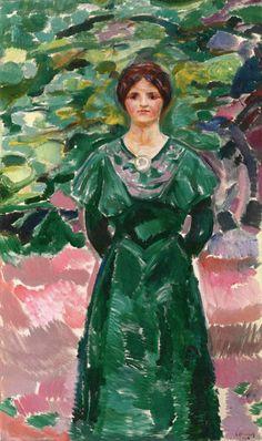 Ingeborg in Green 1912