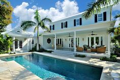 This home in Key West, Florida looks like the perfect warm-weather escape. Holiday Residence by Craig Reynolds Landscape Architecture   - CountryLiving.com