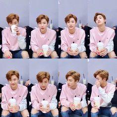 Love a boy in pink Winwin, Rapper, Johnny Seo, Nct Dream Jaemin, Lucas Nct, Na Jaemin, Hyungwon, Beautiful Asian Girls, Taeyong
