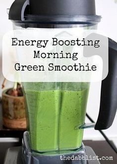 Don't get me wrong, I'm still a huge fan of my green juices. But, sometimes a girl needs some fibrous green drinks in her life - so enter the green smoothie. Green smoothies LOVE you and your body. It's a way to pack leafy greens - which contain more vitamins and minerals than any other food group - into an easy to drink, delicious tasting drinks. You can boost your immune system, fight disease with powerful antioxidants, improve health and longevity, and naturally boost your energy. It's the... Green Smoothie Girl, Green Smoothies, Energy Smoothies, Energy Drinks, I Need Energy, Anti Oxidant Foods, Energy Boosters, Green Juices, Immune System