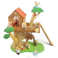 Купить Sylvanian Families Игровой набор Дом-дерево - детские товары Sylvanian Families в интернет-магазине OZON.ru, цена sylvanian families игровой набор дом-дерево