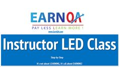 Instructor LED Session 12 April                                          EarnQA the best Online QA training, provides access to attend various seminars, webinars, training's to help students and professionals to get more confident, to be certified in all sorts of QA. Please join below International Conference / Session.