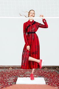 fashion #red #net #style #stylist #designer #design #fashiondesign