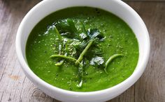 Kale and avocado soup recipe - By FOOD TO LOVE, Cool, refreshing and flavoursome, this creamy kale and avocado soup is packed full of nutrients and healthy fats that will keep you fueled for a busy day. This recipe is from Scott Gooding's book, Clean Living.