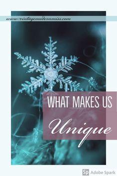What Makes Us Unique – Vintage Modern Miss
