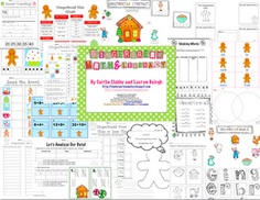 Gingerbread Math & Literacy Packet