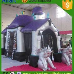 Halloween Inflatable house (5)