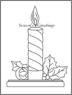 60 Melhores Imagens De Velas Natalinas Desenho De Natal Velas
