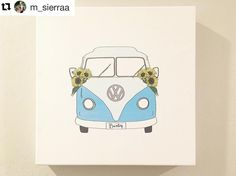 This #VWBus has found its place! Thanks @m_sierraa  I'm so happy to bring some joy to your walls with this canvas! {{ Don't forget to tag me on the projects that I created for you! I'd love to see your pictures! }} Repost @m_sierraa  Now that I'm moved into the new house I finally get to hang this amazing hand-drawn piece by @andreacomenta !! So much love for her creativity!  My future ride  & my favorite flowers  #custom #vwbus #volkswagen #70s #futureride #sunflowers #motivation