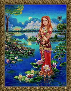Gypsy is a racial slur so I depict her as a queen, symbolic of a woman who stands proud of who she is regardless of how she is defined by others. Web Gallery, Oil Painters, Queen, Indian Art, Prints For Sale, Art Oil, Art Images, Fantasy Art, Fine Art Prints