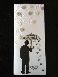 Umbrella Man Get Well card