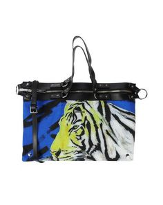 JUST CAVALLI Handbag. #justcavalli #bags #shoulder bags #hand bags #polyester #leather #