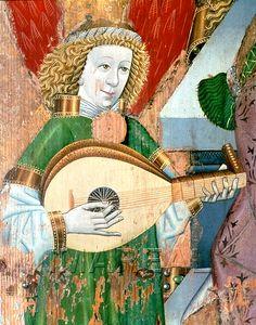 Hl. Maria mit Kind Kunstwerk: Temperamalerei-Holz ; Einrichtung sakral ; Flügelaltar ; Kärnten  Dokumentation: 1455 ; 1465 ; Klagenfurt ; Österreich ; Kärnten ; Landesmuseum Kärnten ; IN 22  Anmerkungen: 160,5x119,8