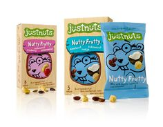 Justnuts on Packaging of the World - Creative Package Design Gallery