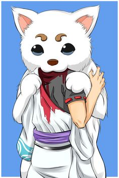 Gintama | Sadaharu II by OroNoDa on DeviantArt