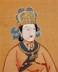 Empress Wu Zetian born: 625 AD; died: 705 AD    Empress Wu Zetian is considered to be one of the most powerful women in Chinese history. She lived during the Tang Dynasty and was born to a wealthy and noble family. She was also very well educated. When Wu Zetian was 13, she was sent to Emperor Taizong's court to be one of his concubines. After Emperor Taizong's death in 649 AD, Emperor Gaozong came to power and Wu Zetian was sent off to become a Buddhist nun.