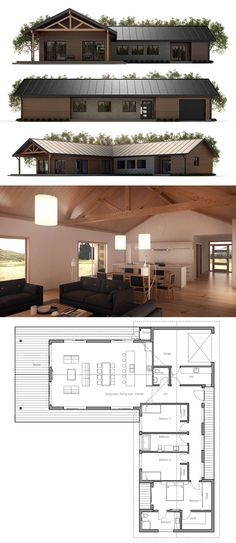 Small House Plan - convert the garage into a larger master bd