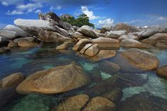 Lengkuas Island, Belitong [photo by Ali Trisno]