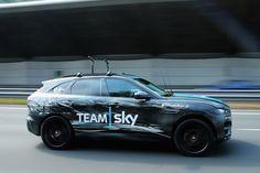 Nouveau Jaguar F Pace sous les couleurs de la Team Sky